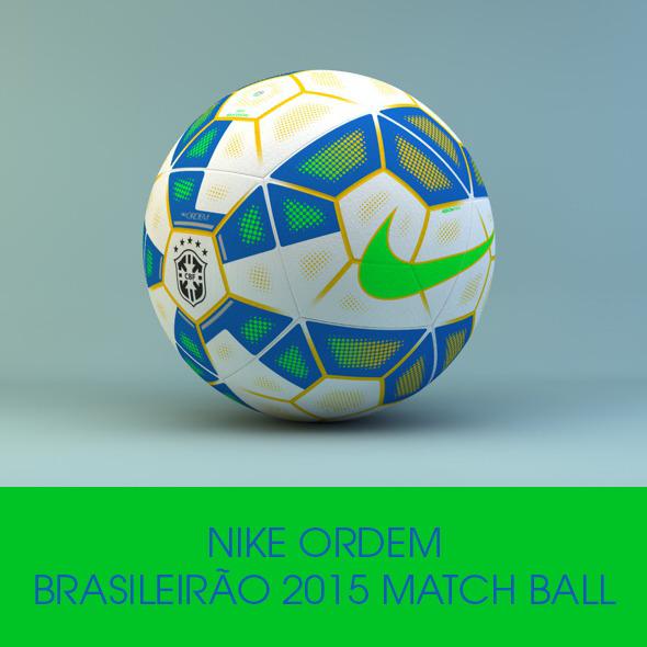 Nike Ordem Brasileirão Official 2015 Ball - 3DOcean Item for Sale