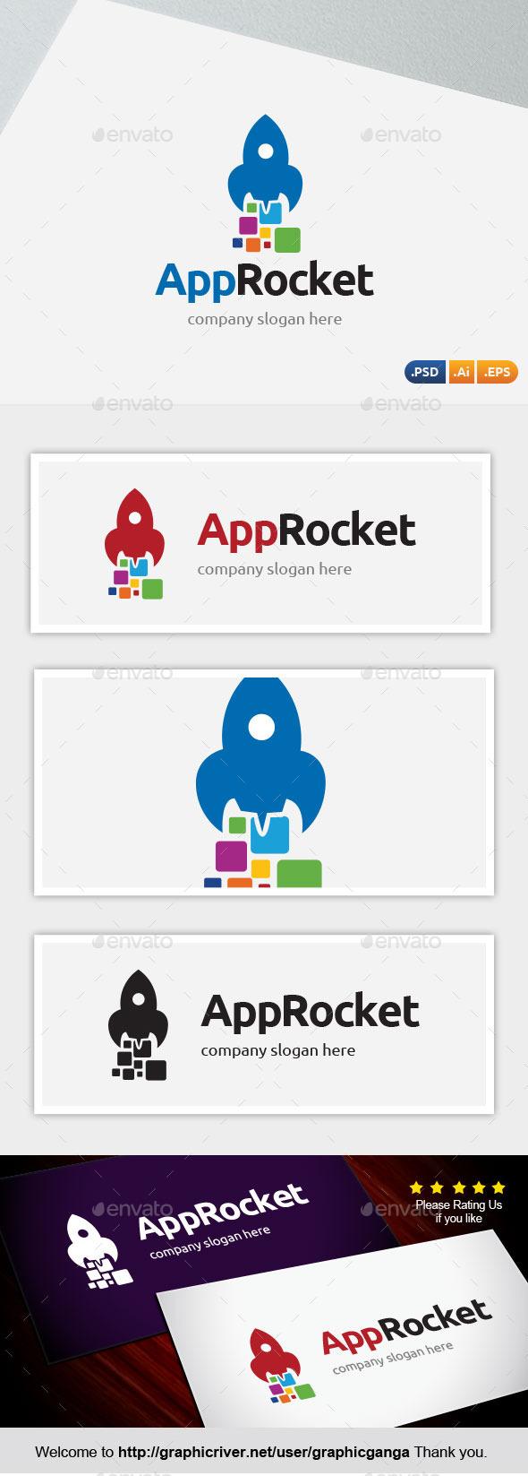 App Rocket - Abstract Logo Templates