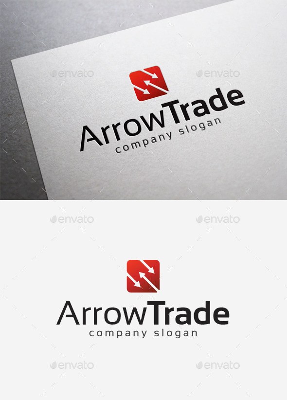 Arrow Trade Logo - Symbols Logo Templates