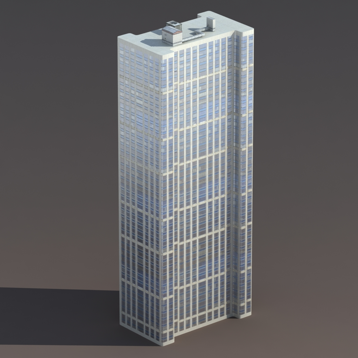 Skyscraper #6 Low Poly 3D Model