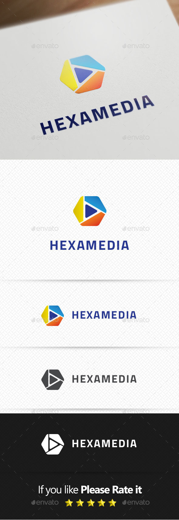 Hexamedia Logo Templates - Buildings Logo Templates