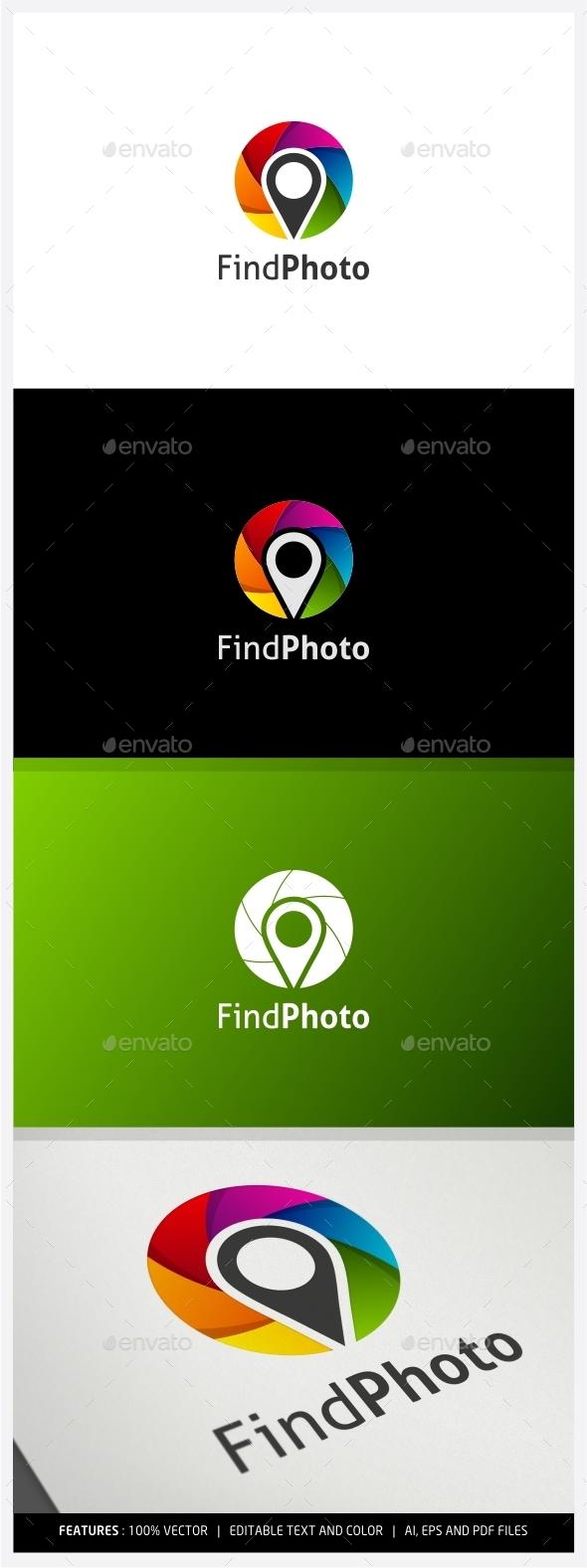 Find Photo Logo - Symbols Logo Templates