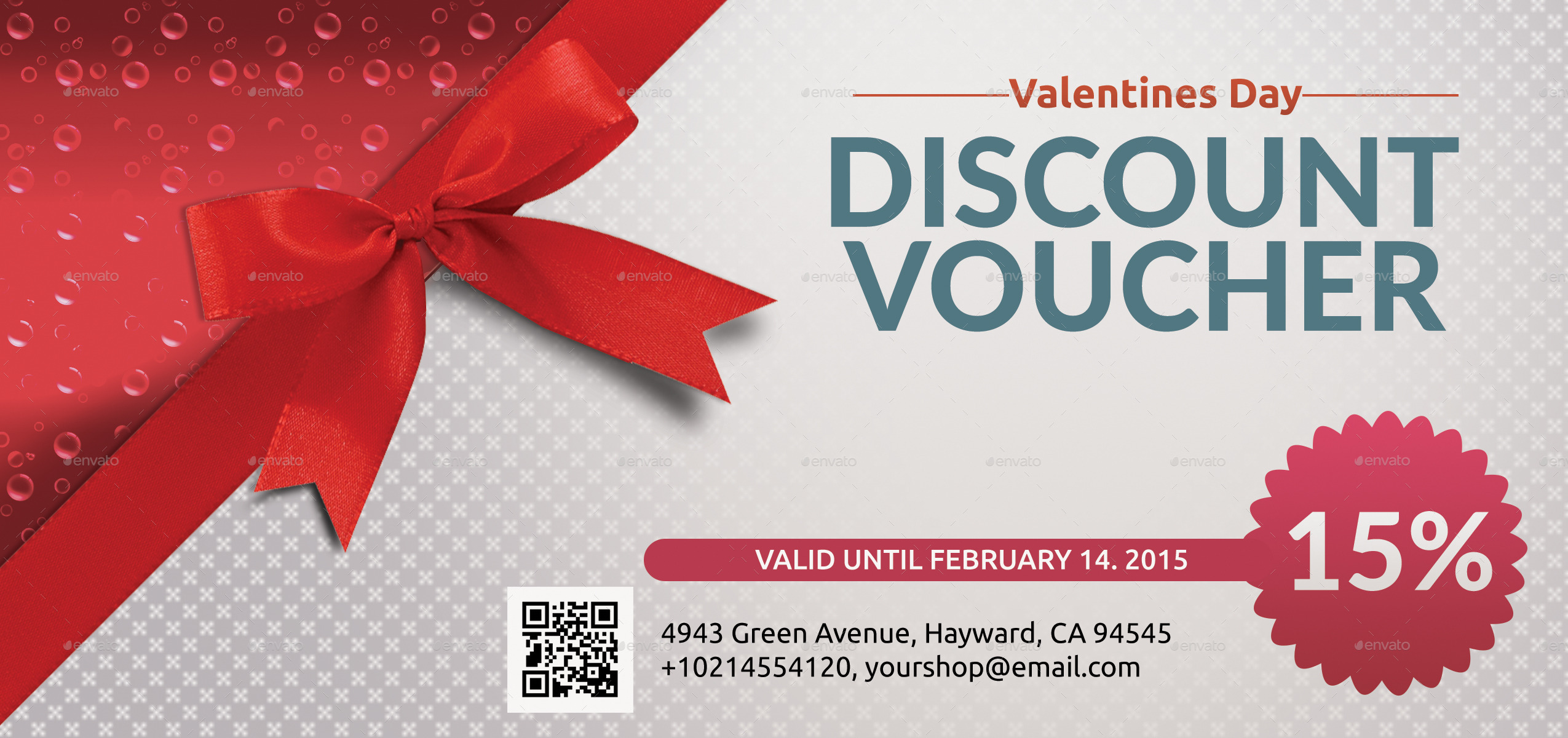 Discount coupon template free