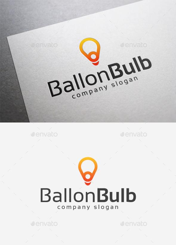 Balloon Bulb Logo - Objects Logo Templates