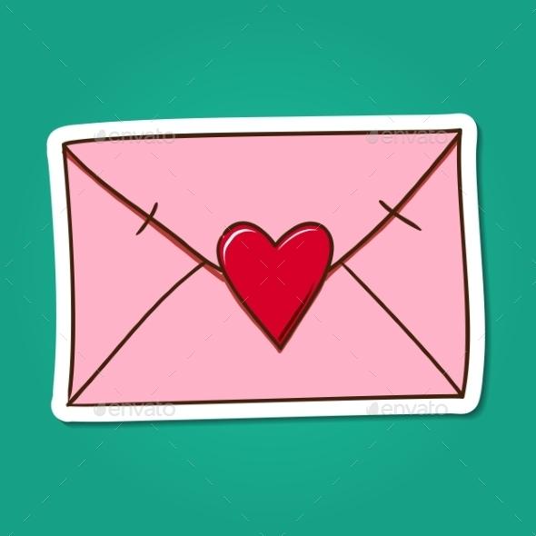 Love Letter. - Miscellaneous Vectors