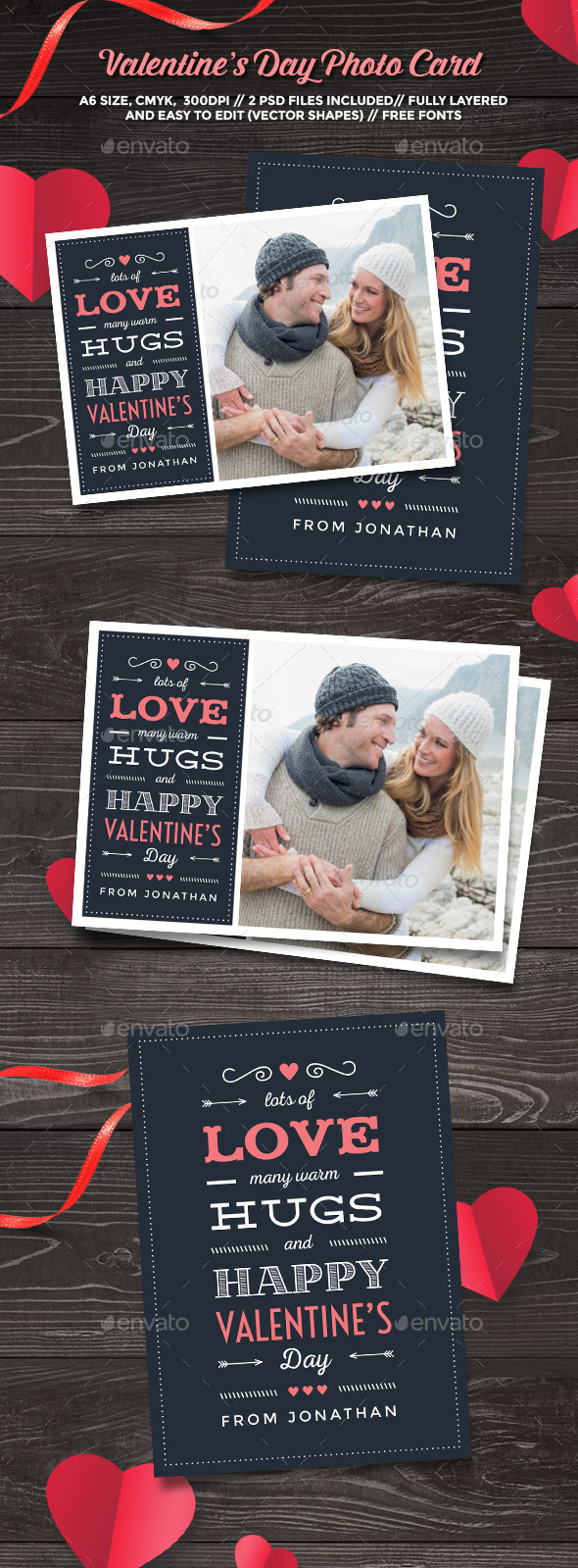 Valentine's Day Photo Card - Greeting Cards Cards & Invites