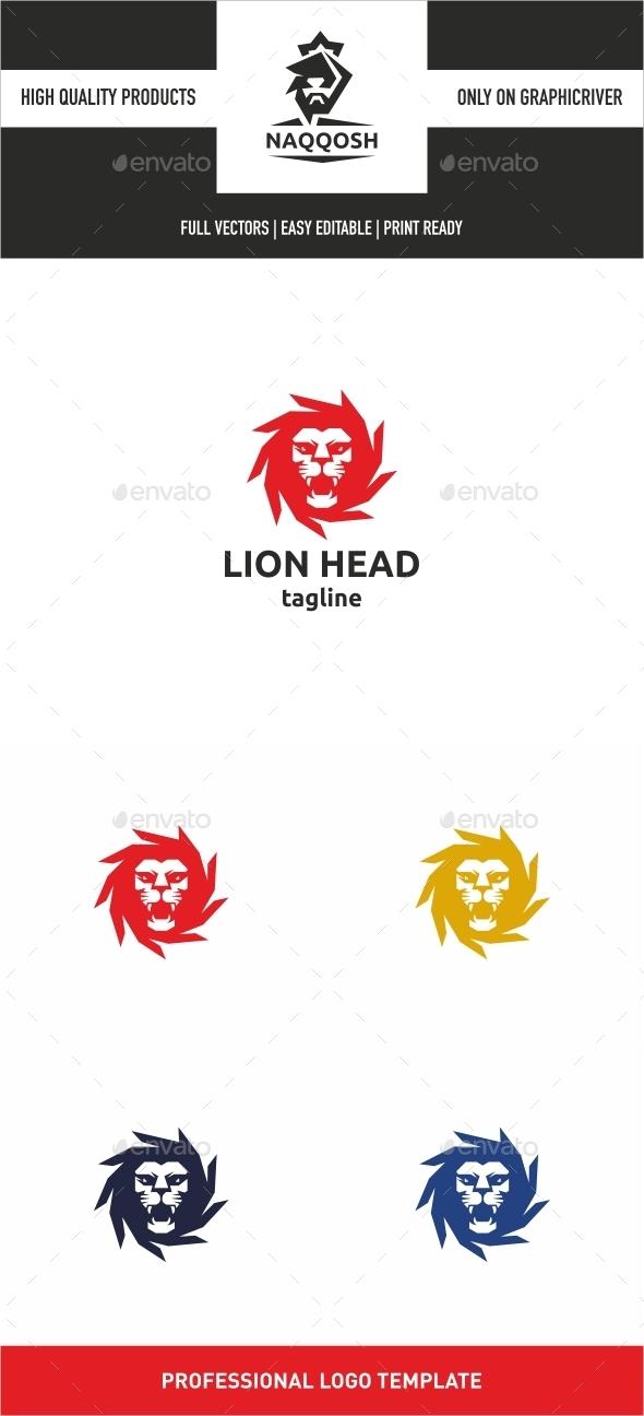 Lion Head Logo - Logo Templates