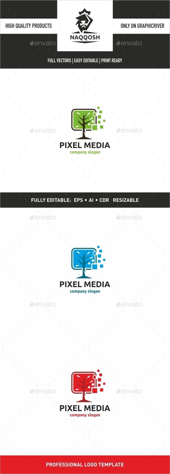Pixel Media - Logo Templates