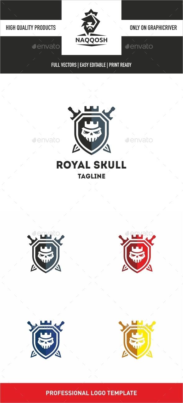 Royal Skull - Logo Templates