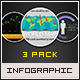 Infographic Elements and Templates 3 Pack Vol. 3 - GraphicRiver Item for Sale
