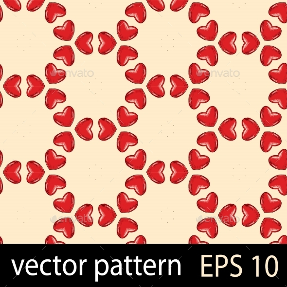 Hearts Pattern - Patterns Decorative