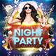 Flyer Night Party - GraphicRiver Item for Sale