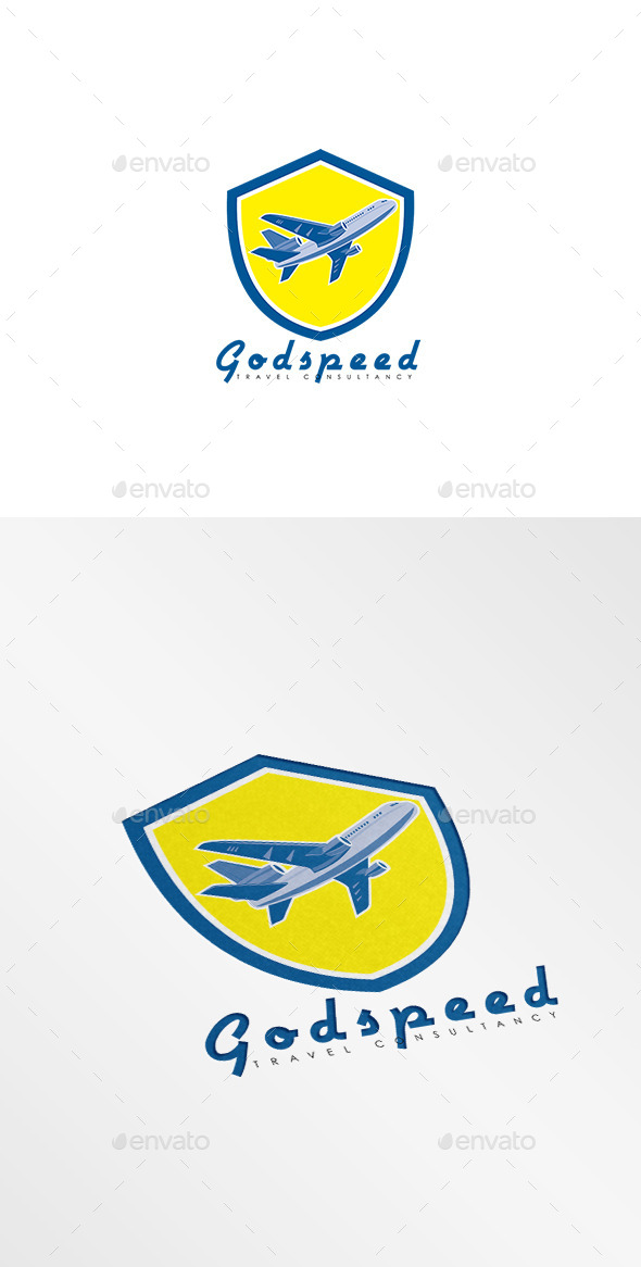 Godspeed Travel Consultancy Logo - Humans Logo Templates
