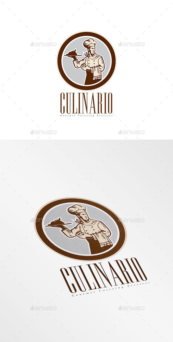 Culinario Gourmet Catering Services Logo - Humans Logo Templates