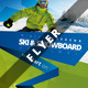 Ski Party Event Flyer Or Poster - GraphicRiver Item for Sale