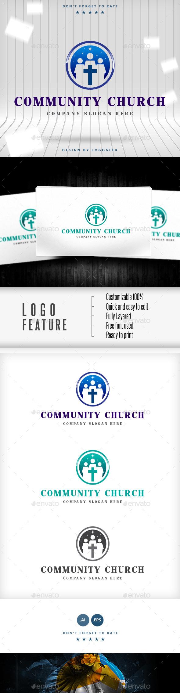 Community Church Logo - Logo Templates