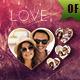 Valentine Photo Frame Template - GraphicRiver Item for Sale