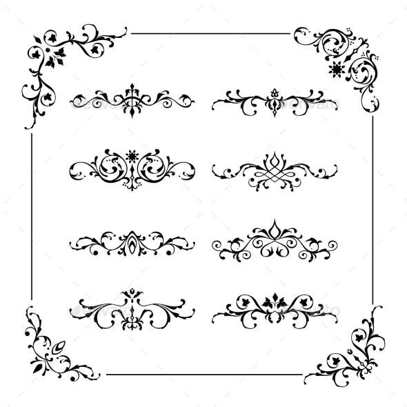 Vintage Frame and Borders - Borders Decorative