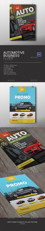 Automotive Business Flyer - Corporate Flyers