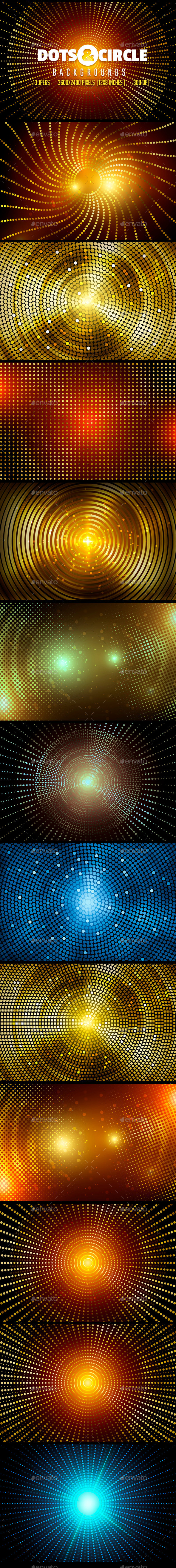 Dots & Circle Backgrounds - Miscellaneous Backgrounds