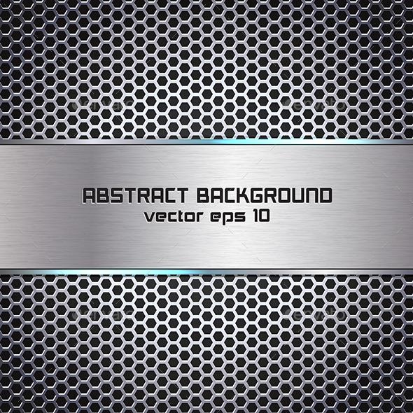 Stylish Metallic Background - Backgrounds Decorative