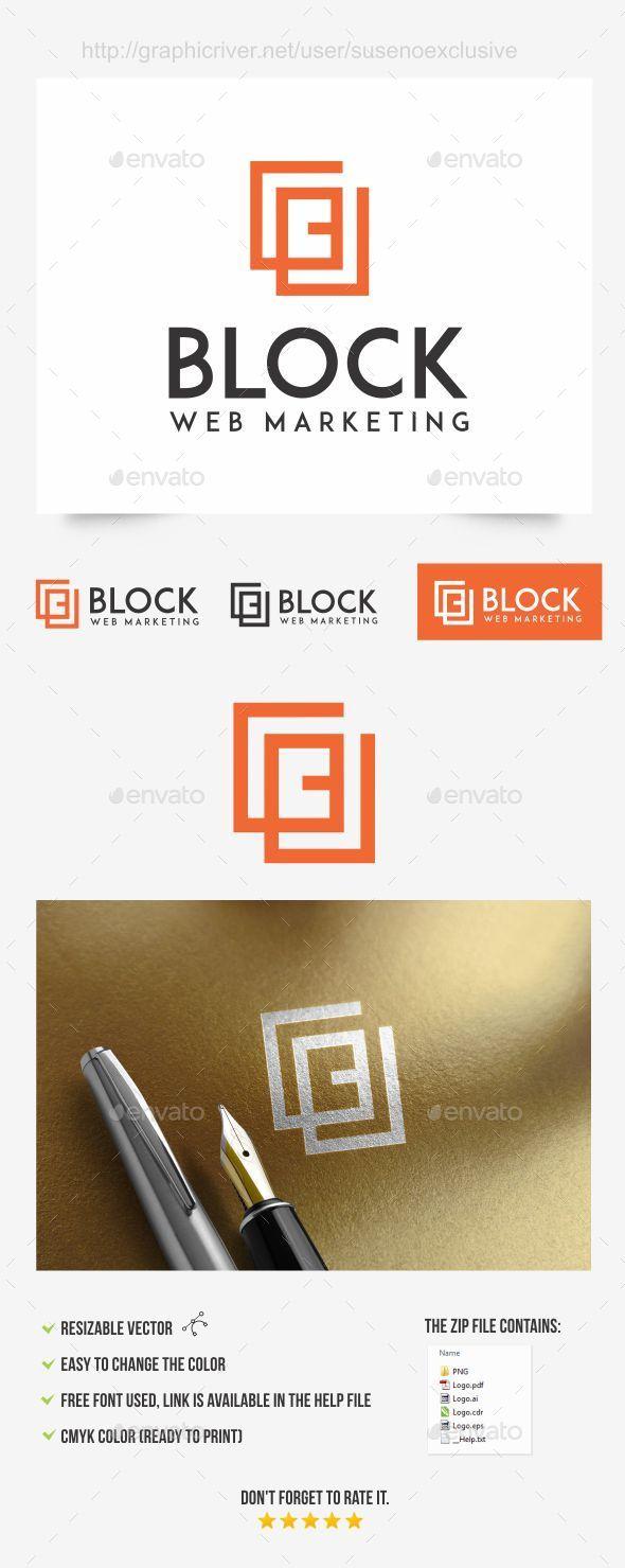 B Logo - Letters Logo Templates