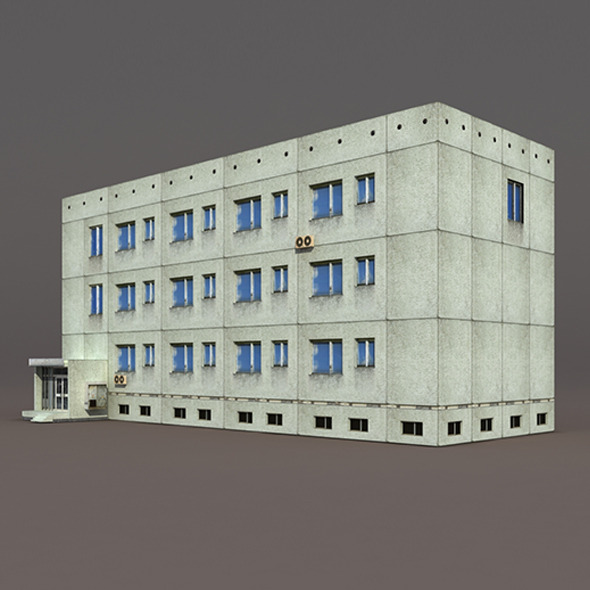 Residential Building #6 - 3DOcean Item for Sale