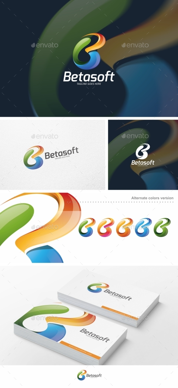 Abstract B Letter - Logo Template - Letters Logo Templates