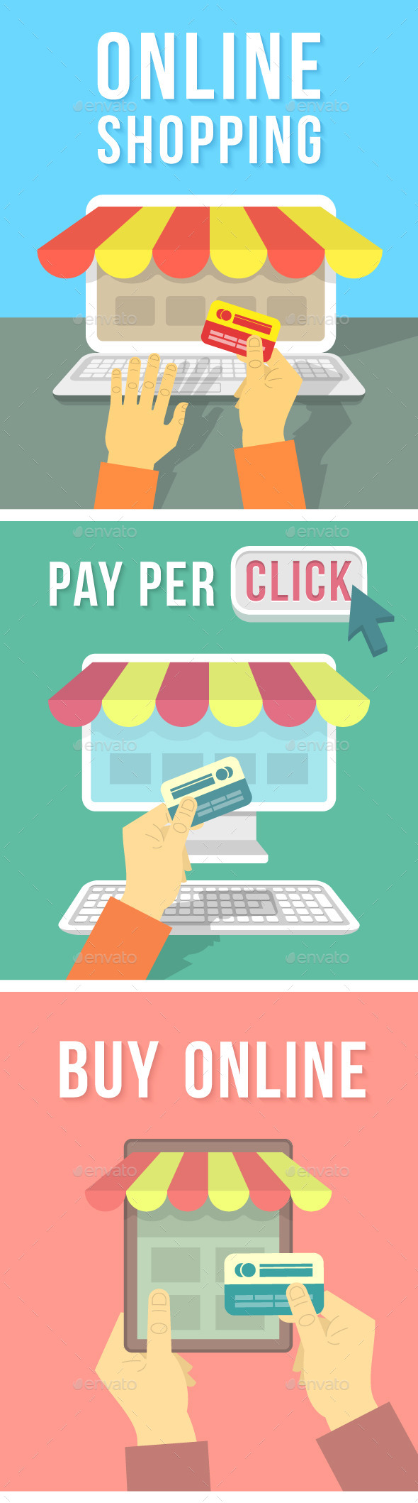Online Shopping Concepts - Web Technology