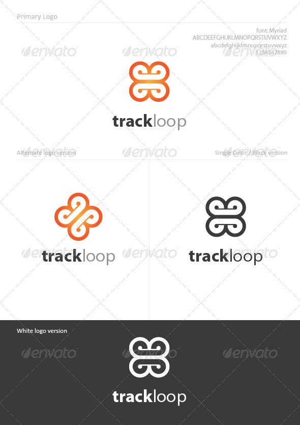 Track Loop - Symbols Logo Templates
