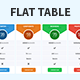 Flat Style Pricing Tables - GraphicRiver Item for Sale