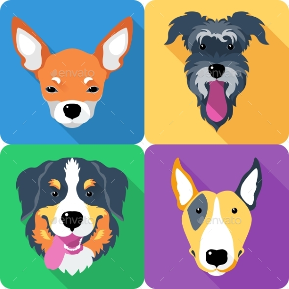Dog Icons - Animals Characters