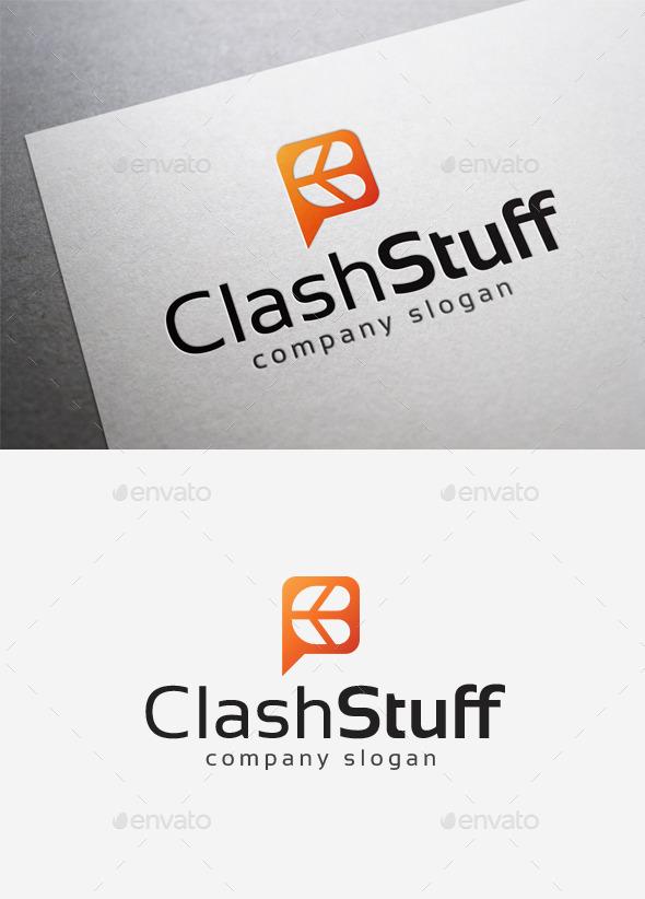 Clash Stuff Logo - Letters Logo Templates