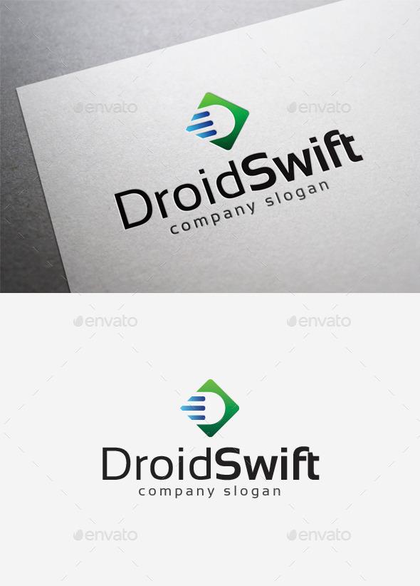 Droid Swift Logo - Letters Logo Templates