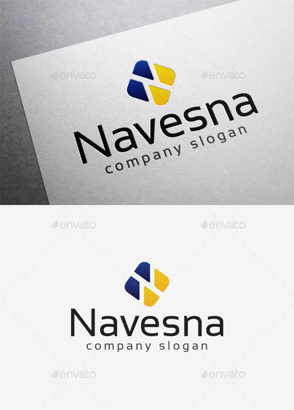Navesna Logo - Letters Logo Templates