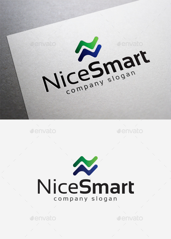 Nice Smart Logo - Letters Logo Templates