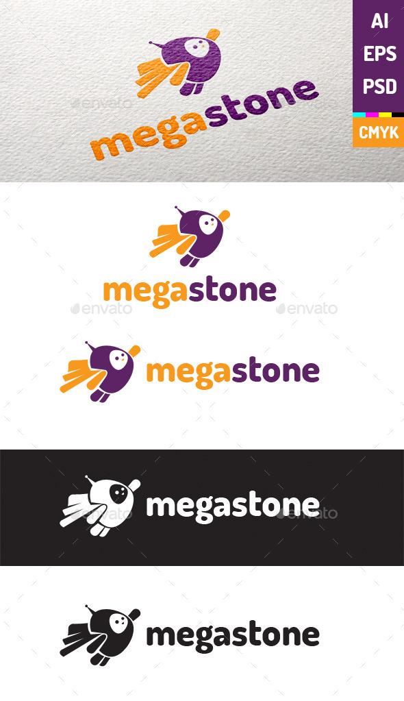 Megastone Logo Template - Humans Logo Templates