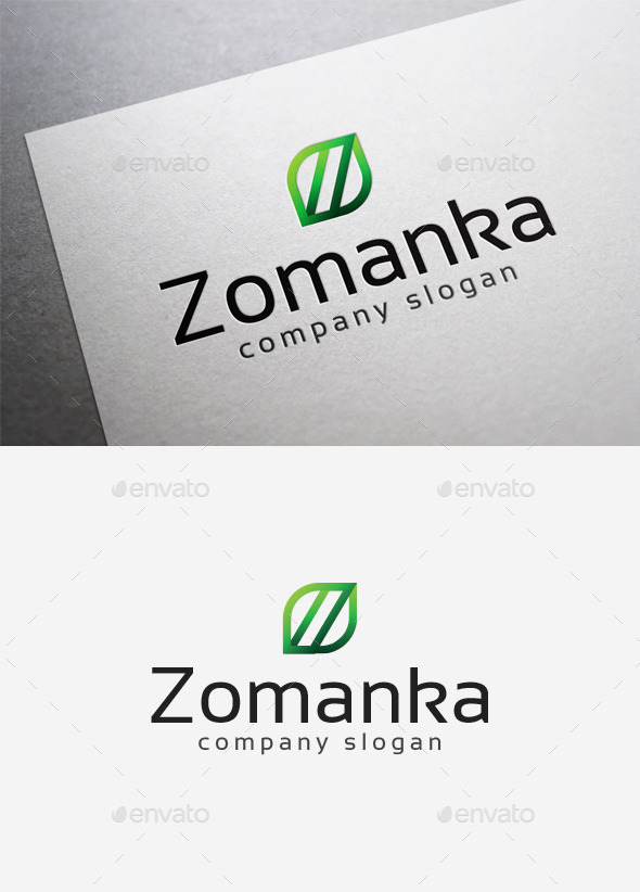 Zomanka Logo - Letters Logo Templates