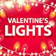 Valentines Lights Decorations Set - GraphicRiver Item for Sale