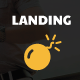 Landing Bomb - Landing Page For Adobe Muse