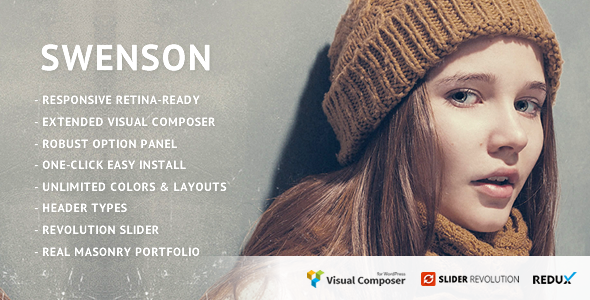 Swenson - Soft Creative Theme