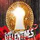 Valentines Flyer + Fb Timeline Template