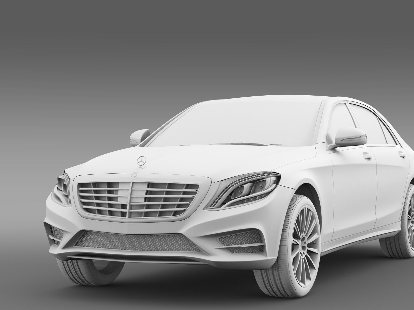 Amg mercedes benz s 350 bluetec w222 2013 by creator 3d for Mercedes benz creator