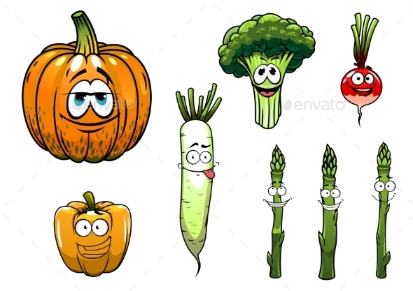 Vegetables Collection - Miscellaneous Characters