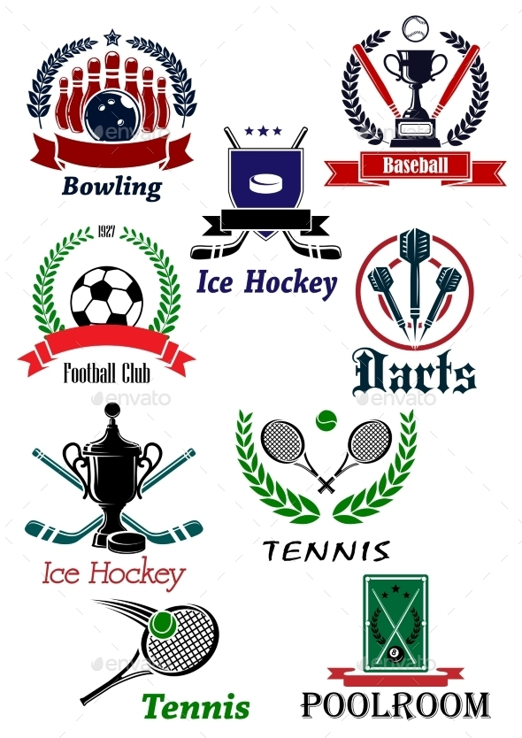 Sporting Emblems - Sports/Activity Conceptual