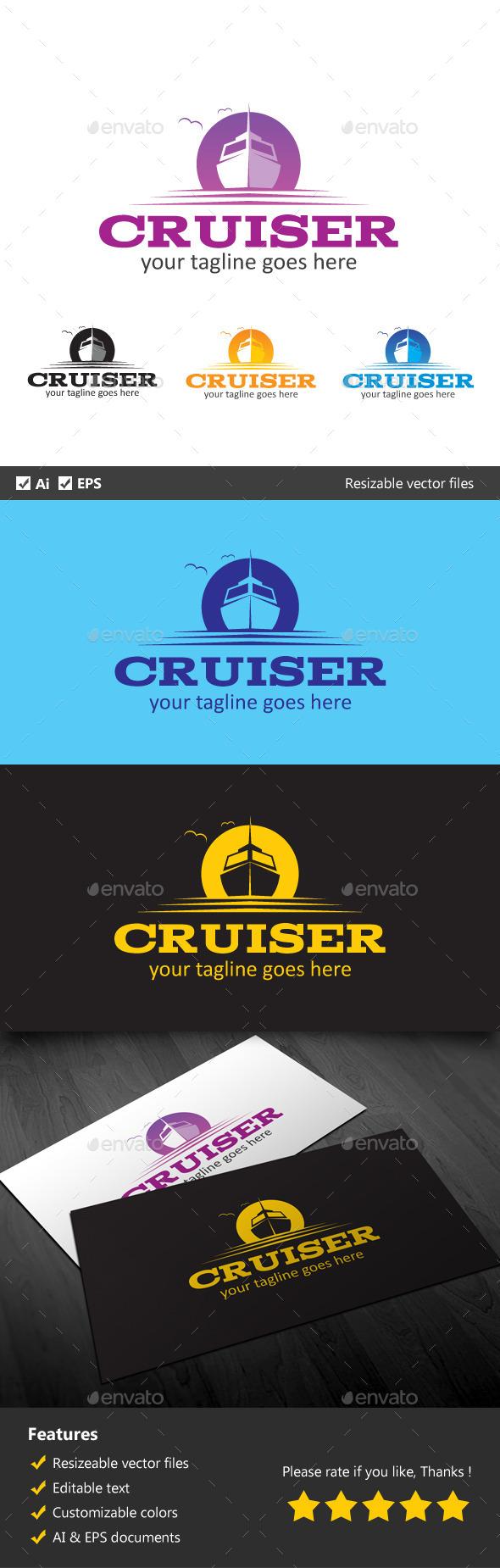 Cruiser - Objects Logo Templates