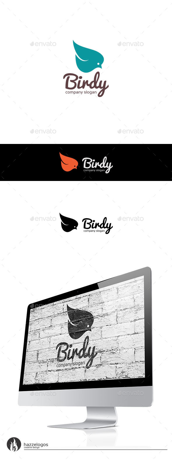 Birdy Logo - Animals Logo Templates