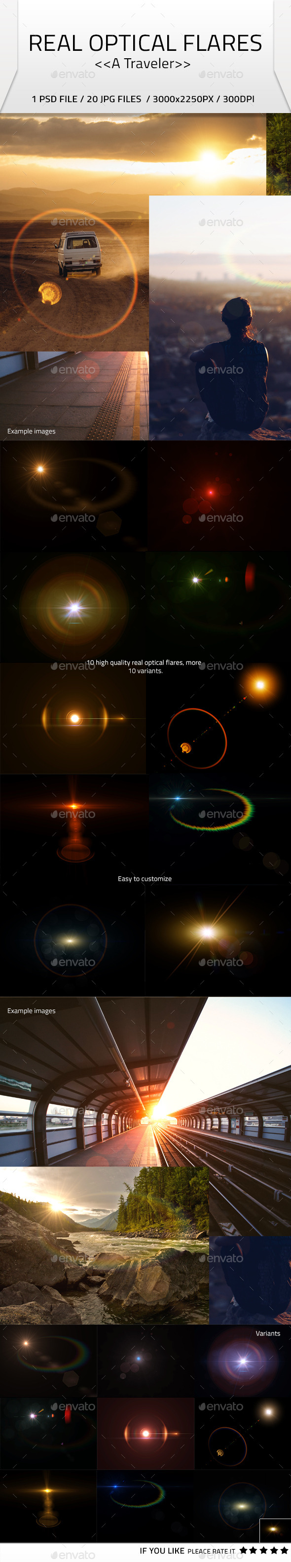 Real Optical Flares - Miscellaneous Graphics