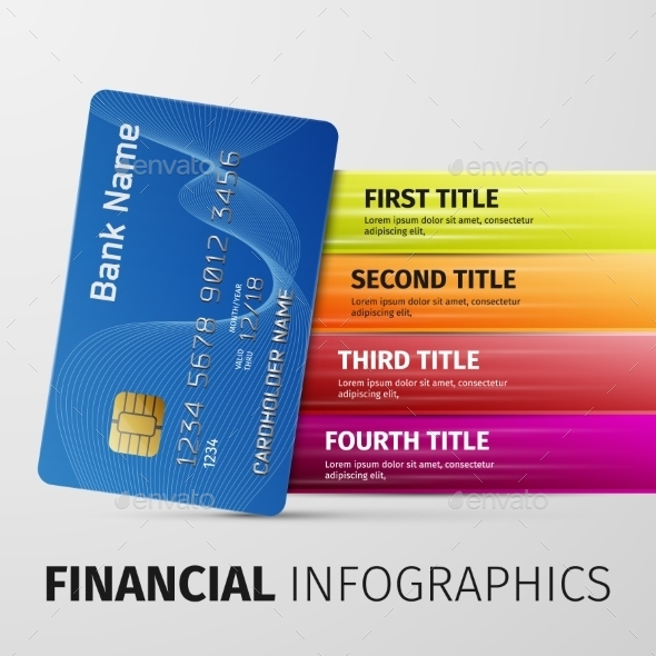 Financial Infographics - Retail Commercial / Shopping