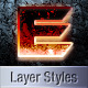 Sci-Fi Layer Styles - GraphicRiver Item for Sale